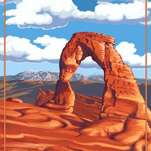 Arches Canvas Artwork