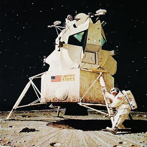 Space Exploration Canvas Art