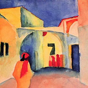 August Macke Canvas Artwork