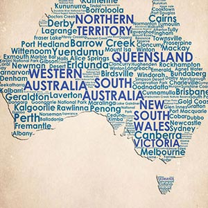 Australia Canvas Prints