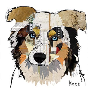 Australian Shepherds Canvas Art Prints
