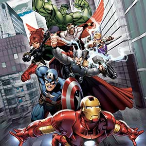 The Avengers Canvas Artwork