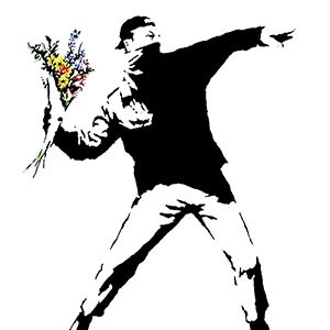 Banksy Canvas Art