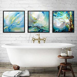 Bathroom Canvas Art