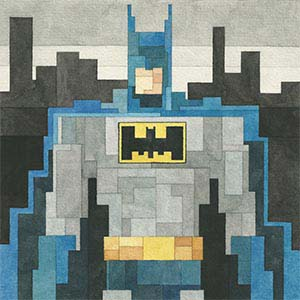 Batman Canvas Artwork