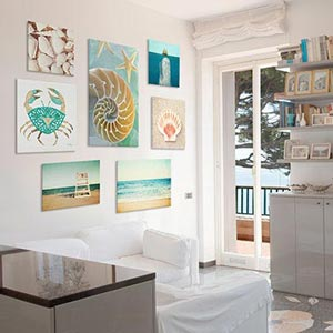 Beachy Escape Art Prints