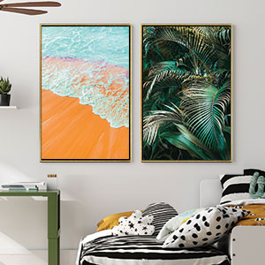 Beach Vibes Canvas Prints
