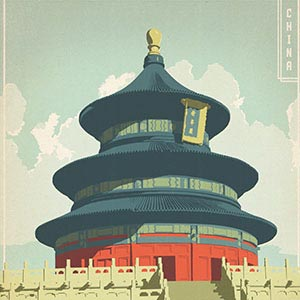 Beijing Canvas Art