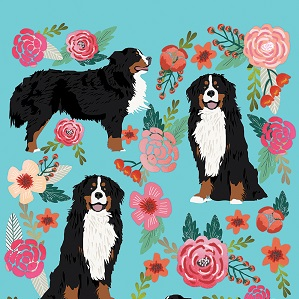 Bernese Mountain Dogs Canvas Wall Art