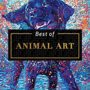 Top Animal Art of 2018 Art Prints