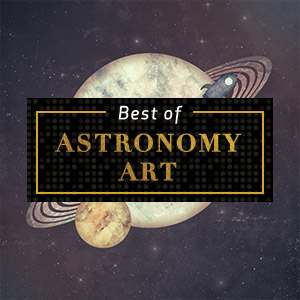 Top Astronomy Art of 2018 Canvas Art