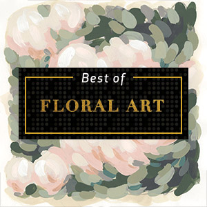 Top Floral Art of 2018 Art Prints
