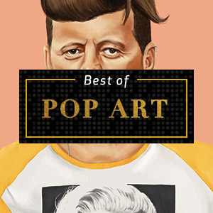 Top Pop Art of 2018 Canvas Prints