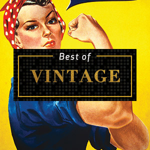 Top Vintage of 2018 Canvas Art