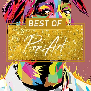 Top Pop Art of 2017 Canvas Art