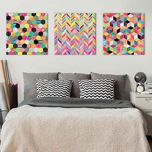 Bold & Bright Canvas Artwork