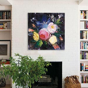 Bold Florals Canvas Art Prints