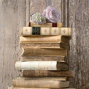 Books Canvas Art