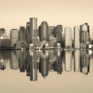 Boston Canvas Artwork