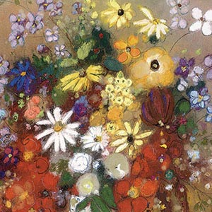 Bouquets Canvas Art