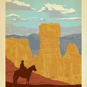 Bryce Canyon National Park Canvas Artwork