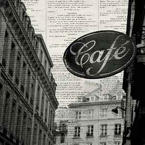 Cafes Canvas Artwork