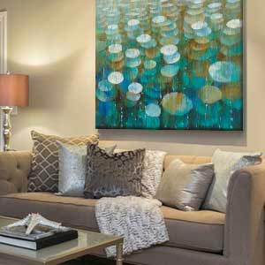 Calm & Sophisticated Canvas Artwork