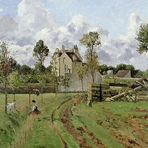 Camille Pissarro Canvas Wall Art