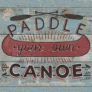 Canoes Art Prints