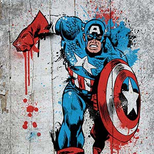 Captain America Canvas Art