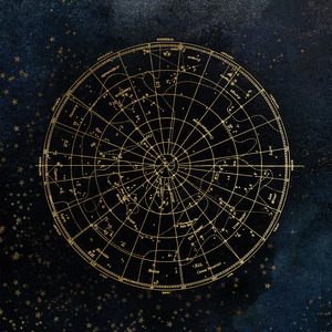 Celestial Maps Canvas Wall Art