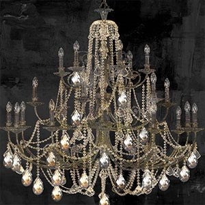 Chandeliers Art Prints