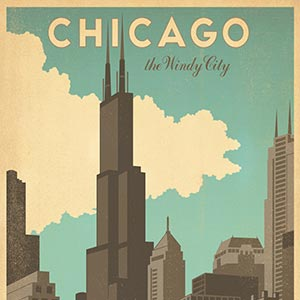 Sweet Home Chicago Art Prints