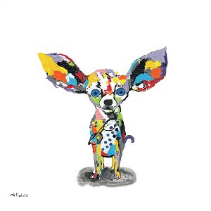 Chihuahuas Canvas Wall Art