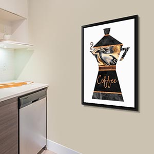 Exceptionnel Wine Lovers · Coffee Lovers Art Prints