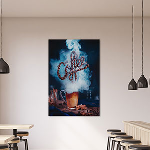Coffee Shop & Cafe Canvas Art