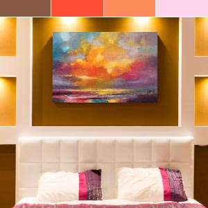 Colors of the Sunset Canvas Artwork