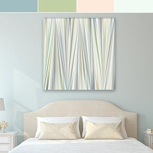 Gentle Pastels Canvas Art Prints