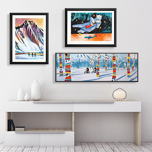 Colorful Arctic Canvas Prints