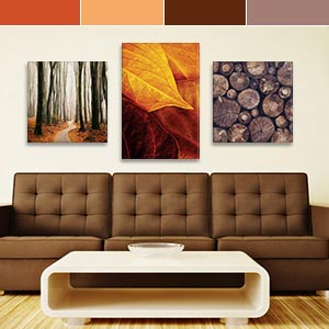 Colors of Fall Canvas Artwork