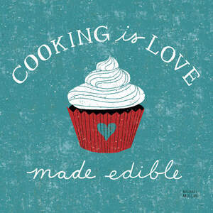 Cooking & Baking Canvas Wall Art