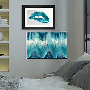 Cool Blue Hues Canvas Artwork