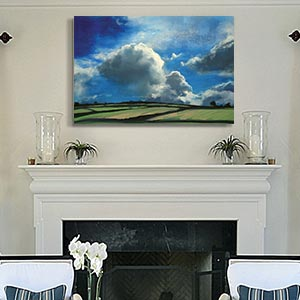 Cool Colors Canvas Art