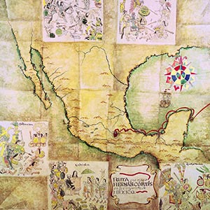 Country Maps Canvas Art Prints