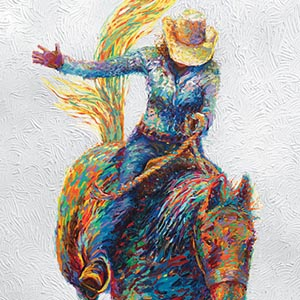 Cowboy & Cowgirl Canvas Artwork