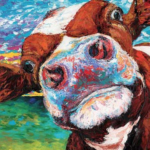 Cows Canvas Art