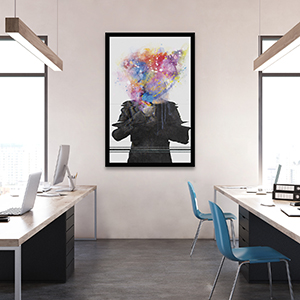 Creative Spaces Canvas Artwork