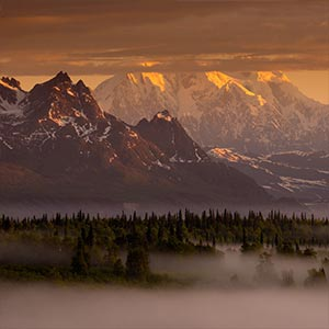 Denali National Park & Preserve Canvas Wall Art