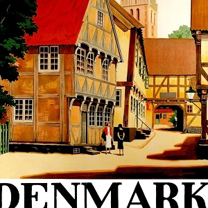 Denmark Canvas Prints