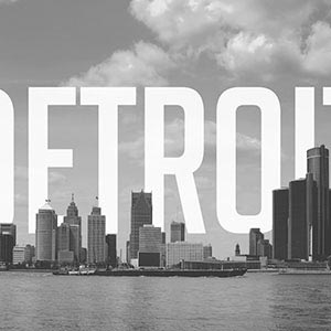 Detroit Canvas Art